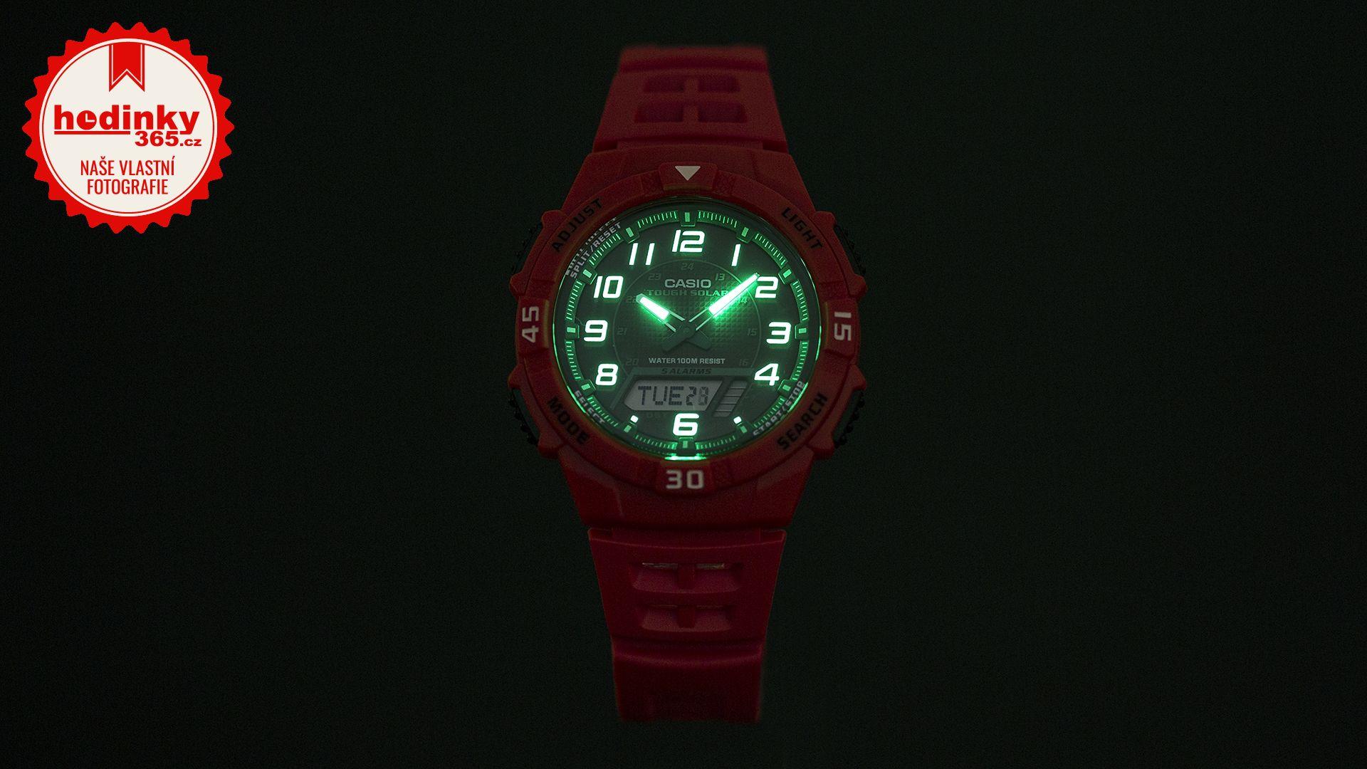 Casio Collection AQ-S800W-4BVEF. Pánské hodinky - pryskyřicový řemínek 6aeb10e567bc