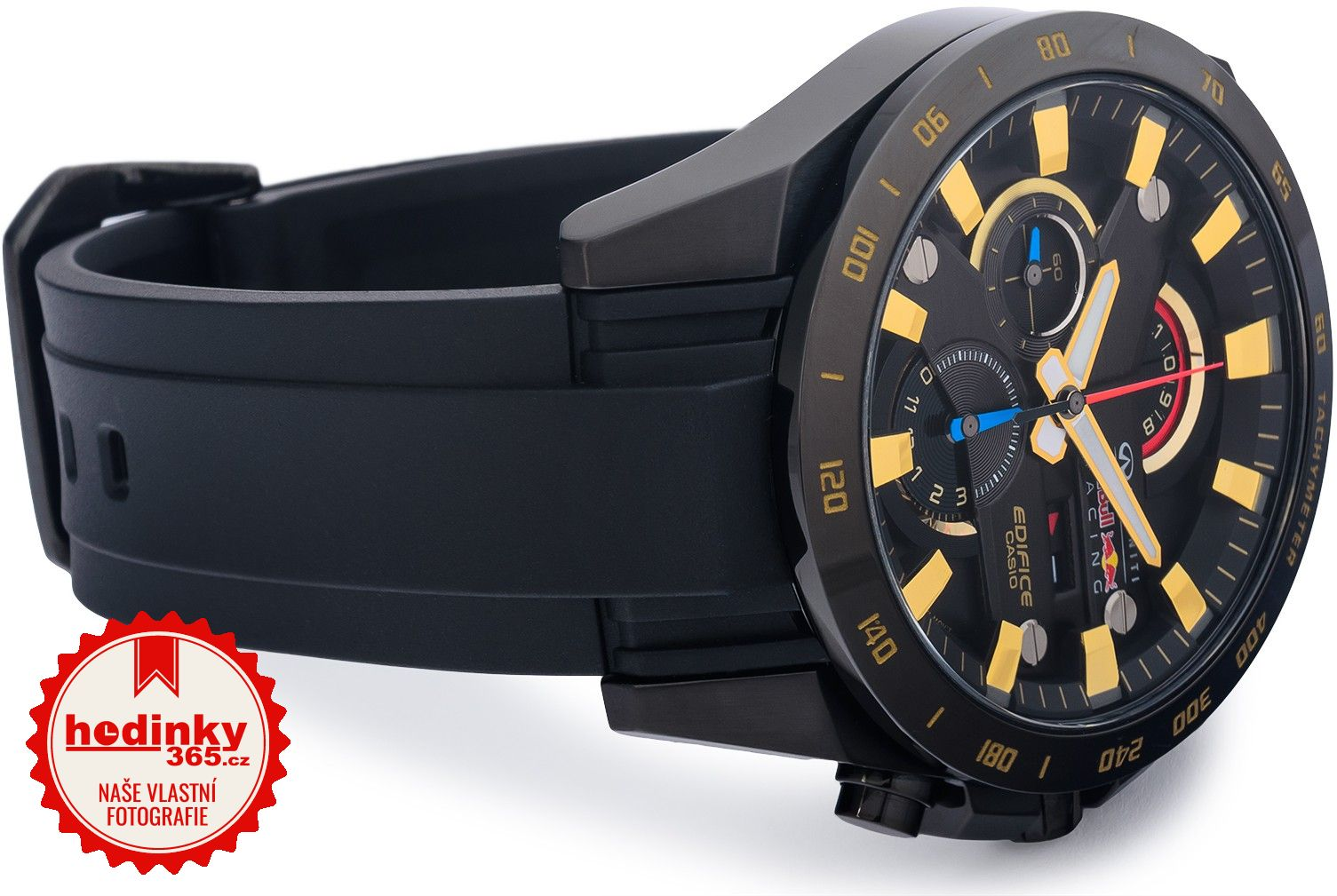 Casio Edifice EFR-540RBP-1AER Infiniti Red Bull Racing Limited Edition. Pánské  hodinky - pryskyřicový řemínek 0c4f6e17f7