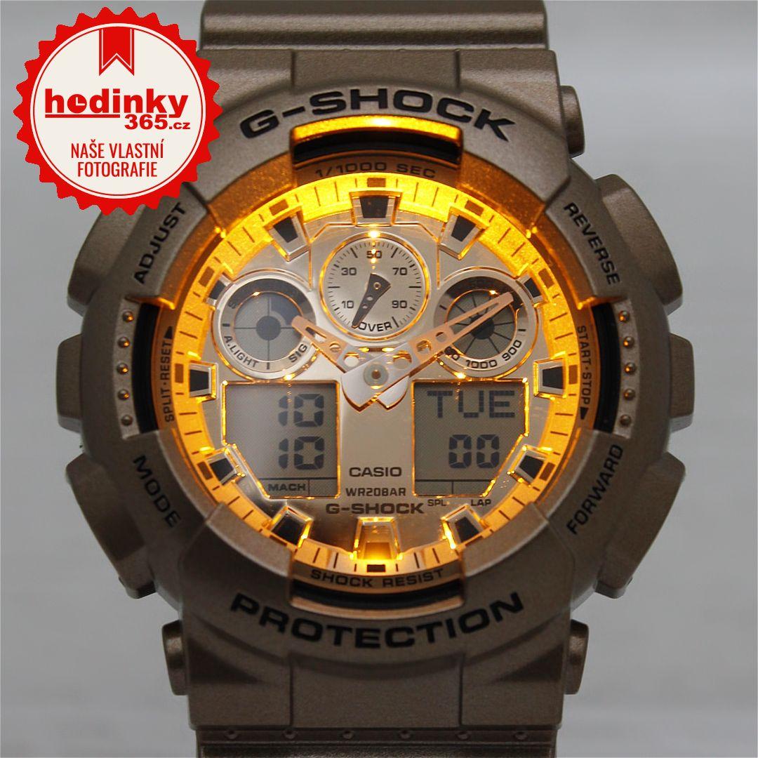 Casio G-Shock Original GA-100GD-9AER  f4da4574cb