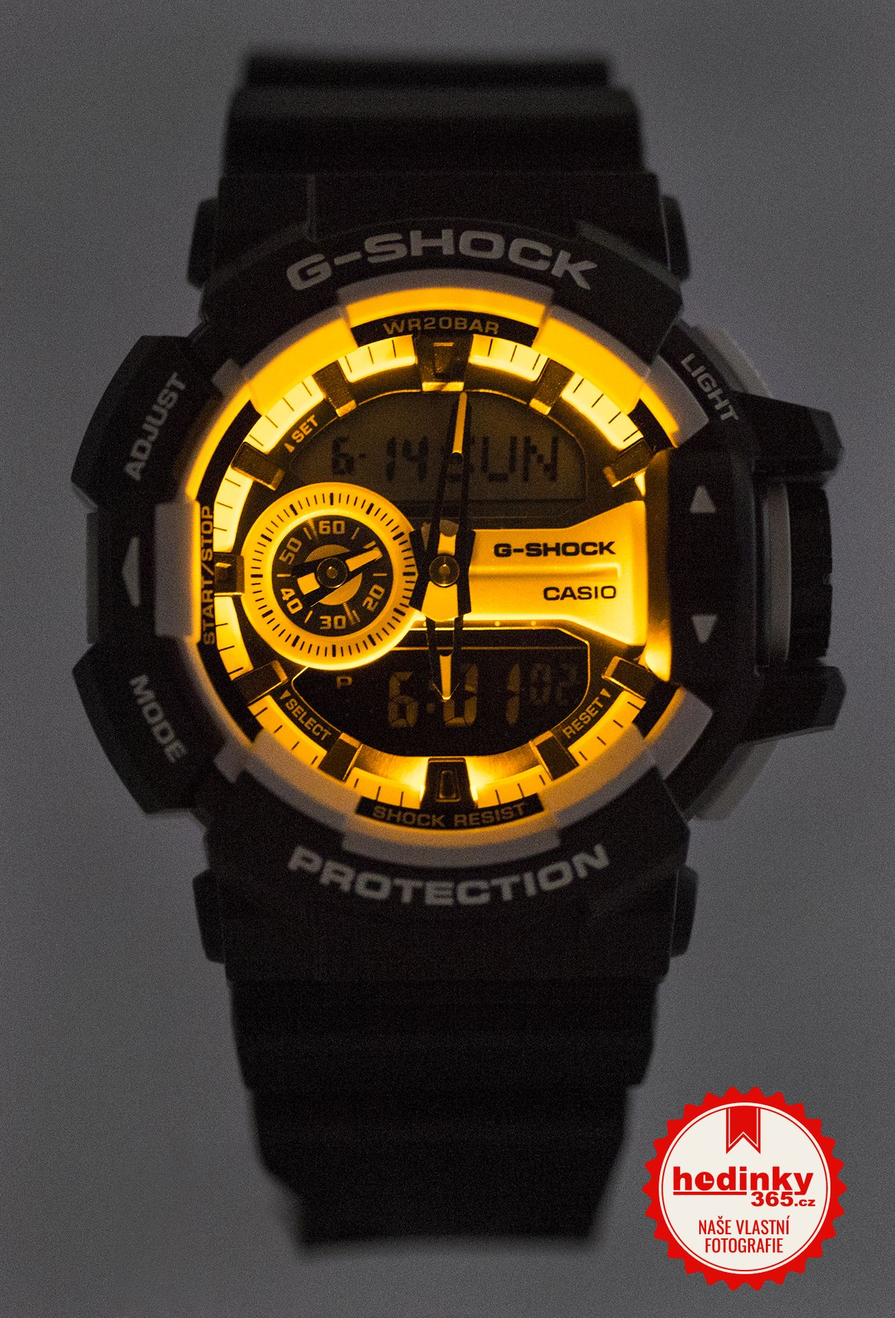 pick up 1d3ec 231fb Hodinky Casio G-Shock Original GA-400-1AER