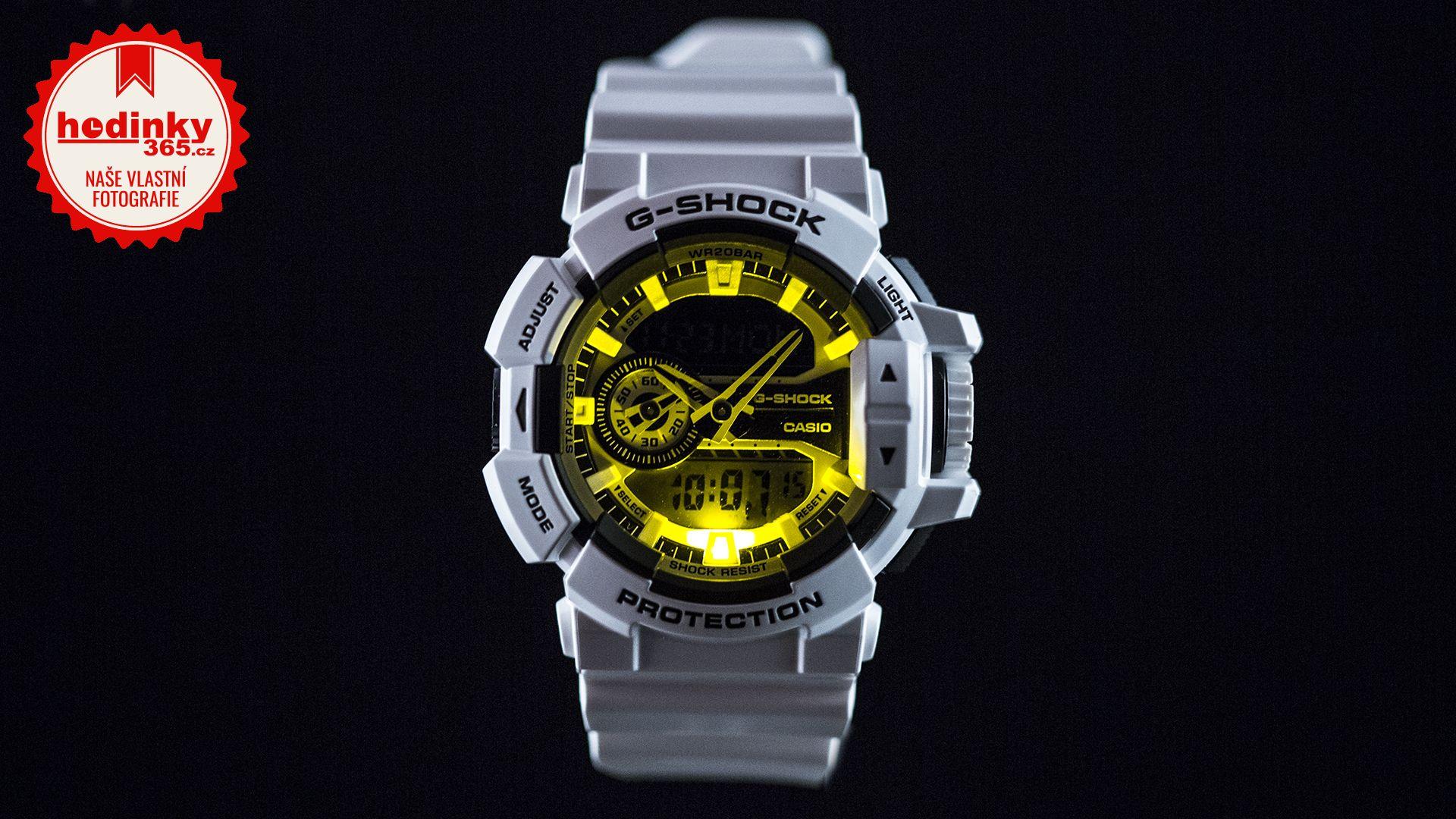Casio G-Shock Original GA-400-7AER. Pánské hodinky - pryskyřicový řemínek 4cf55a1e4b