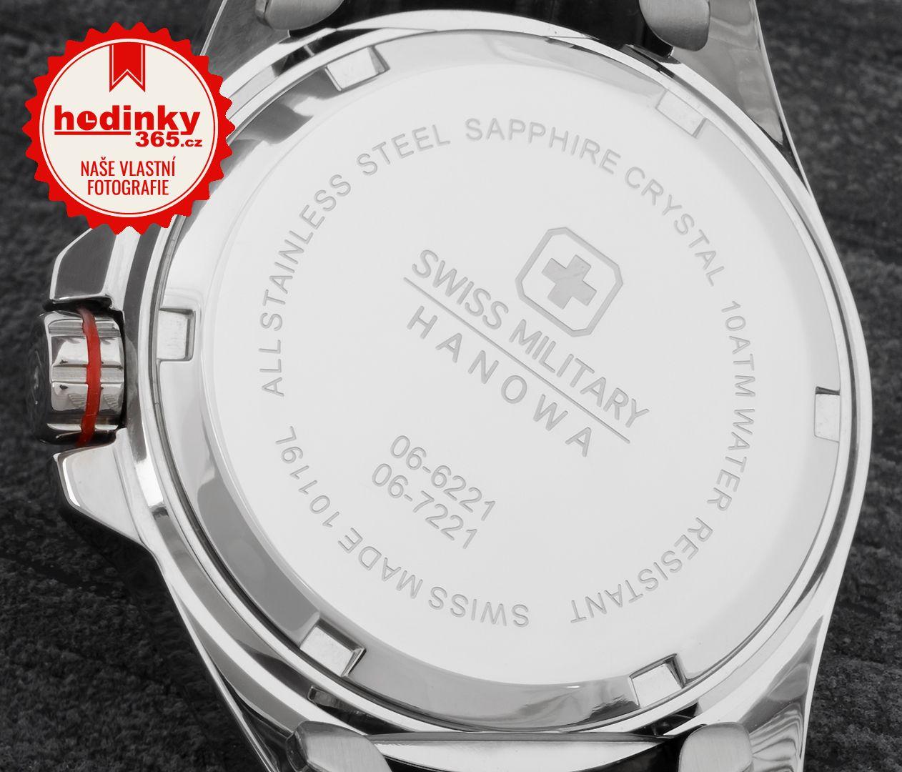 Swiss Military Hanowa 7221.04.001.04. Dámské hodinky - ocelový řemínek f134d81c92
