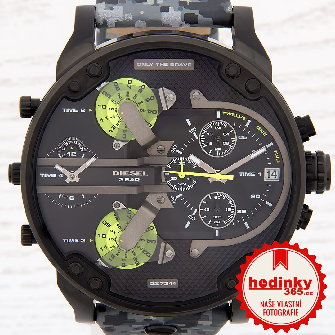 efc581a7d2 Pánské hodinky - kožený řemínek