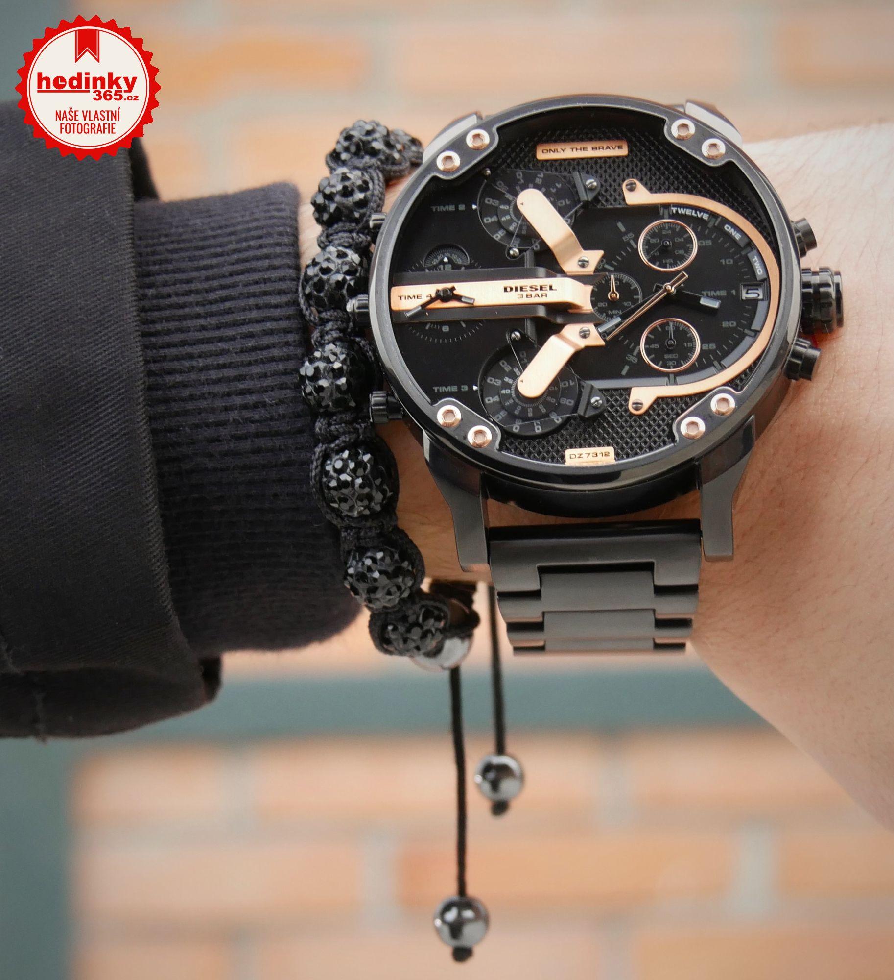 057a7b1b4b Pánské hodinky - ocelový řemínek