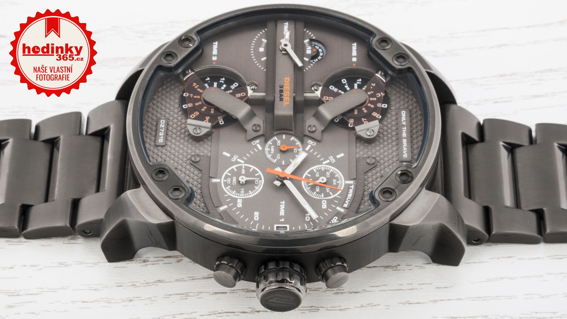 Pánské hodinky - ocelový řemínek bcd0a2a713