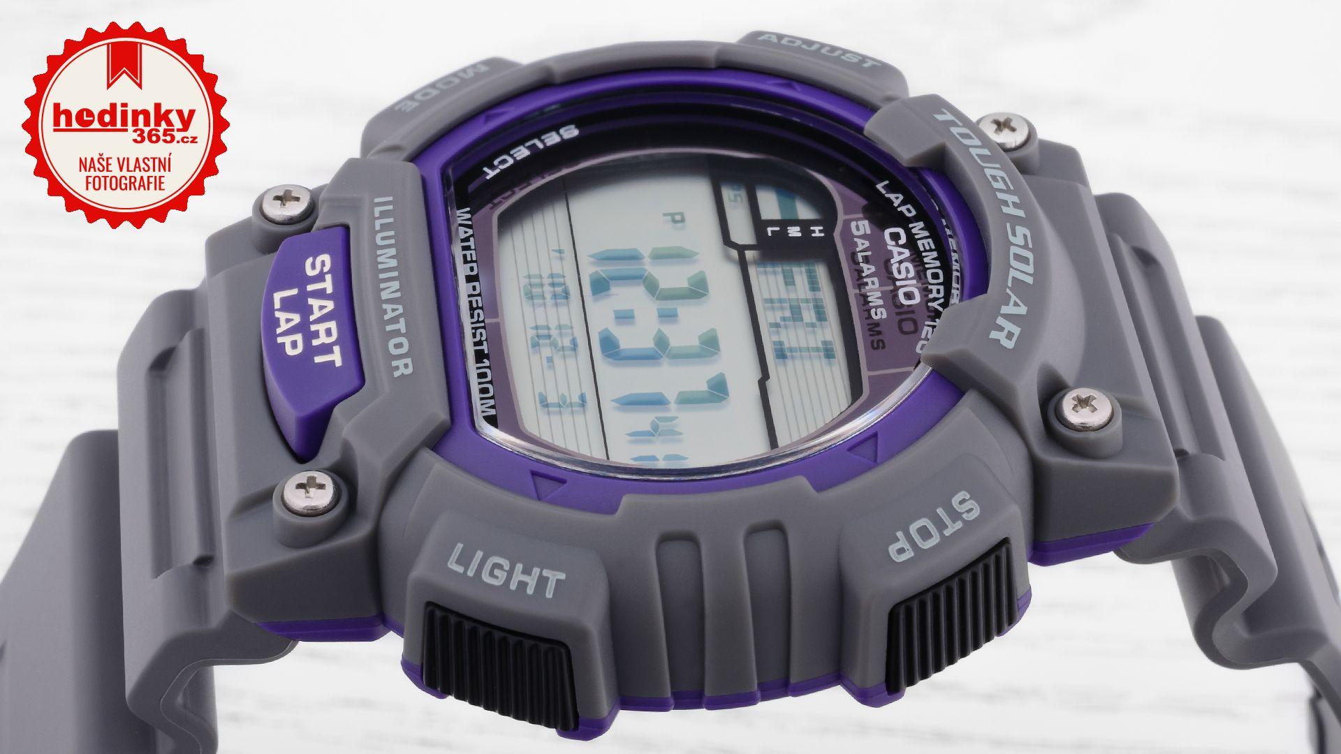 cee08cca6a10 Casio Sport STL-S100H-8AVEF. Pánské hodinky - pryskyřicový řemínek