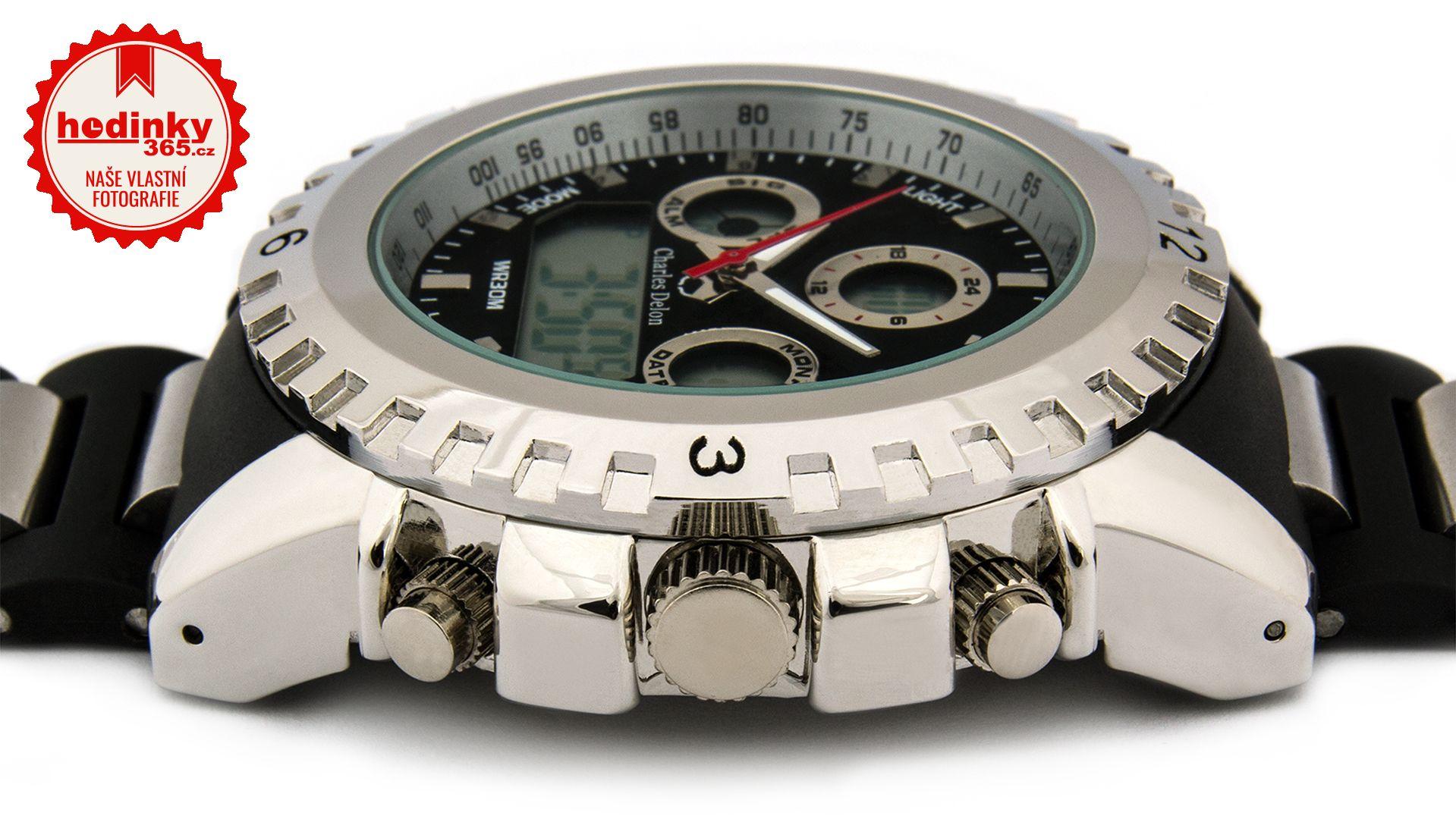 95a85b31d96 Pánské hodinky - plastový řemínek