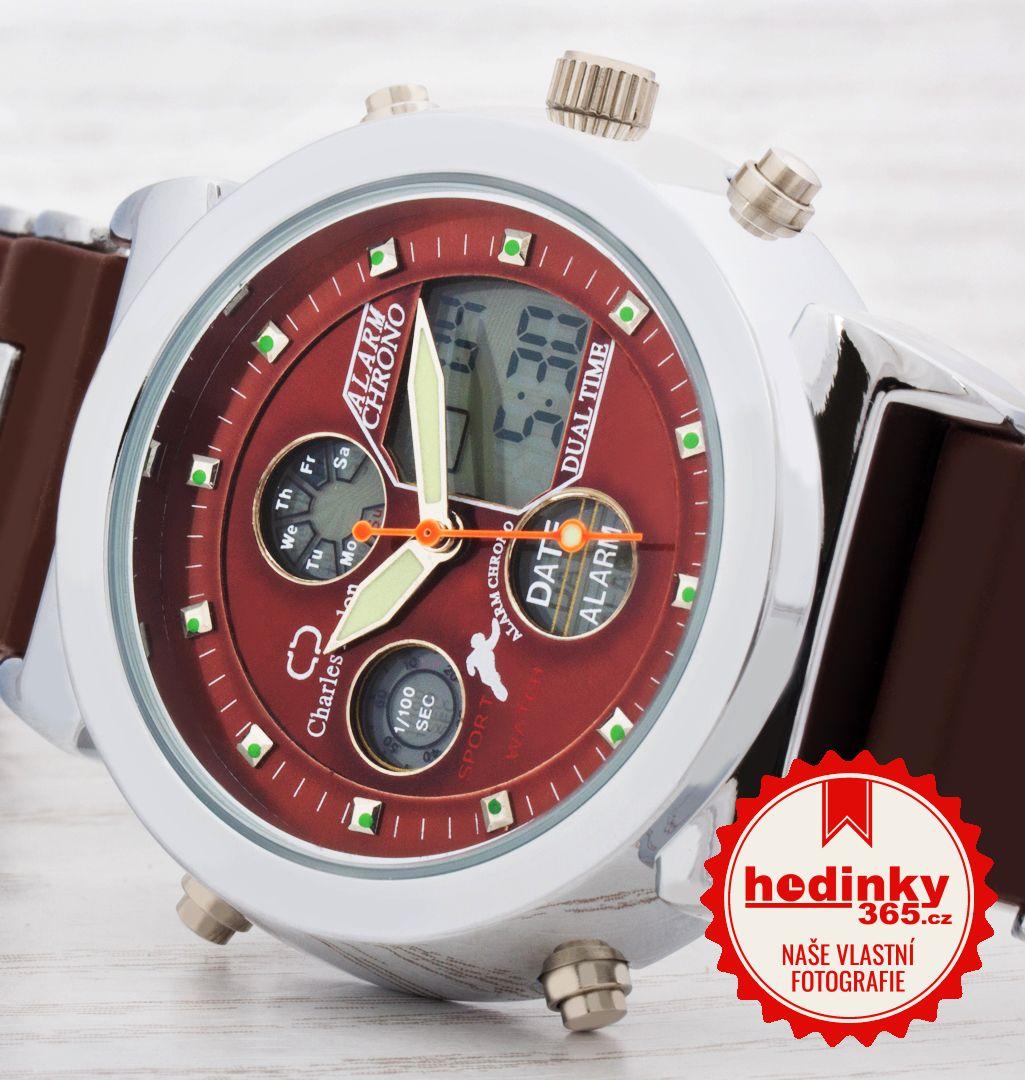 8ba1f9b2862 Unisex hodinky - silikonový řemínek