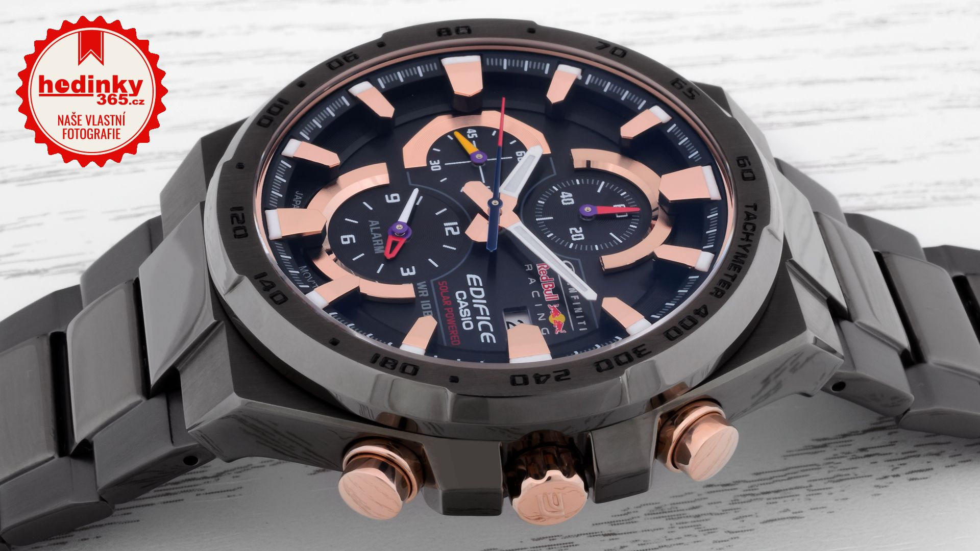 Casio Edifice EFR-541SBRB-1AEF Infiniti Red Bull Racing Limited Edition. Pánské  hodinky - ocelový řemínek 693ae54533