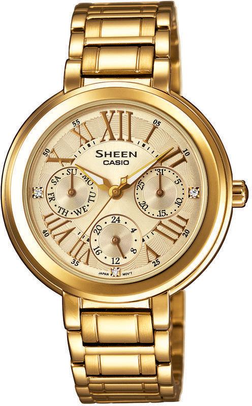 Casio Sheen SHE-3034GD-9AUER