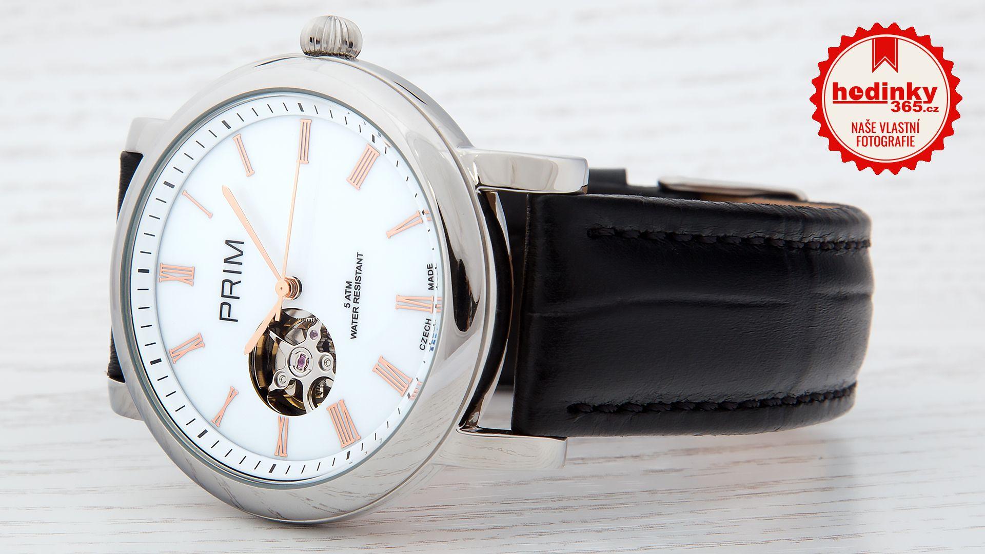 Pánské hodinky - kožený řemínek b72b602a89