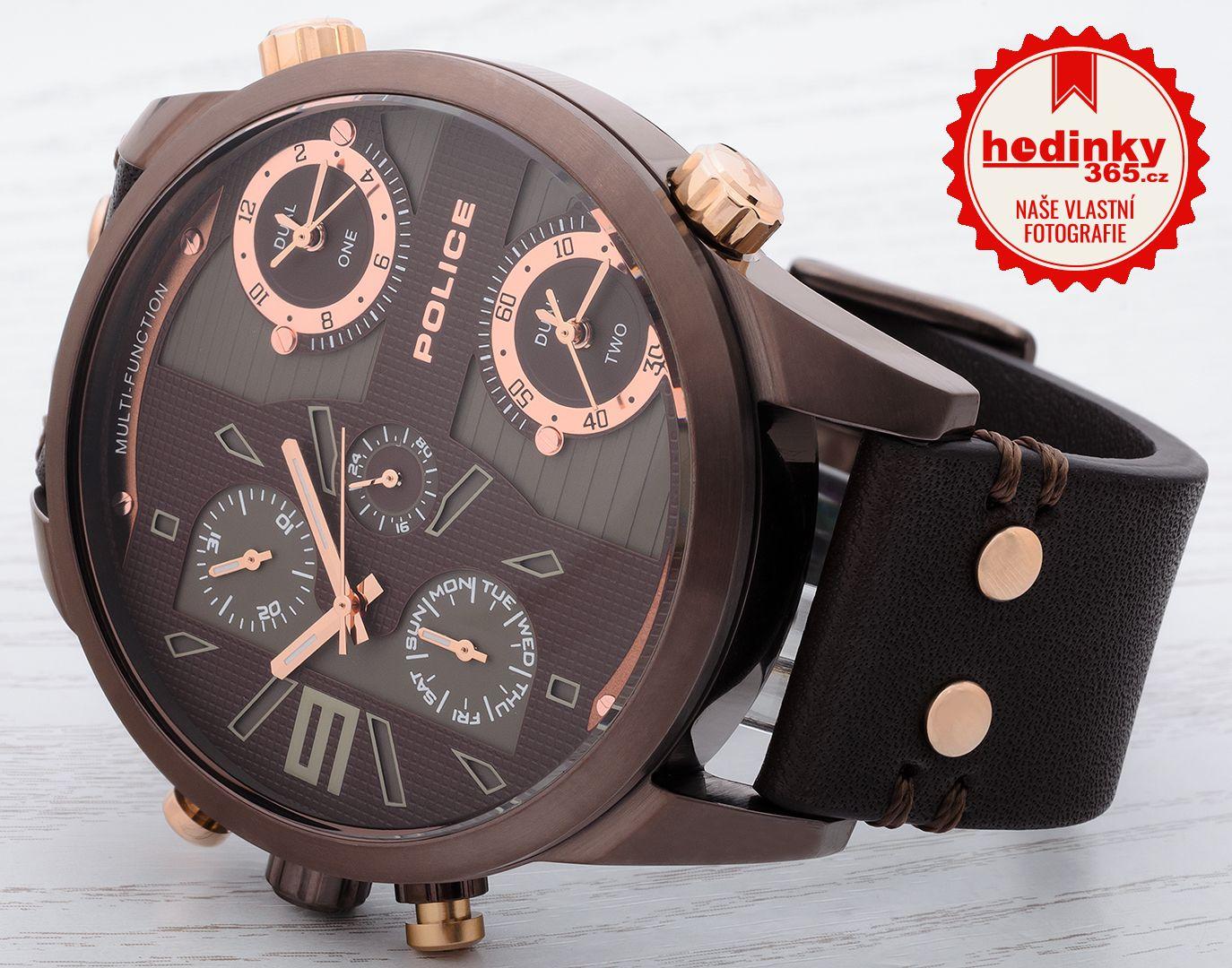 53333496d Police Copperhead PL14374JSBN/12. Hodnocení: 5,0 - 3 recenze. Pánské hodinky  ...