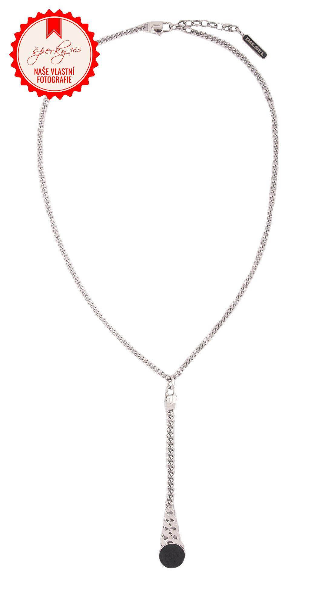 ... náhrdelník z chirurgické oceli Diesel DX0461. Foto  Nikola Liberdová edb6e5382be