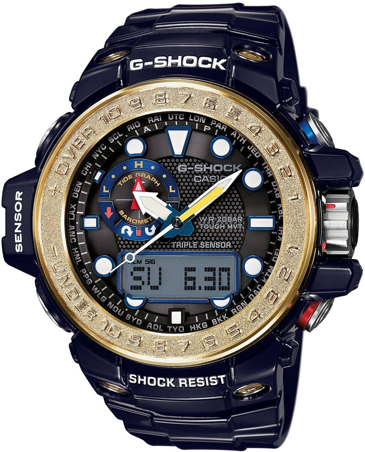 Casio G-Shock Gulfmaster GWN-1000F-2AER