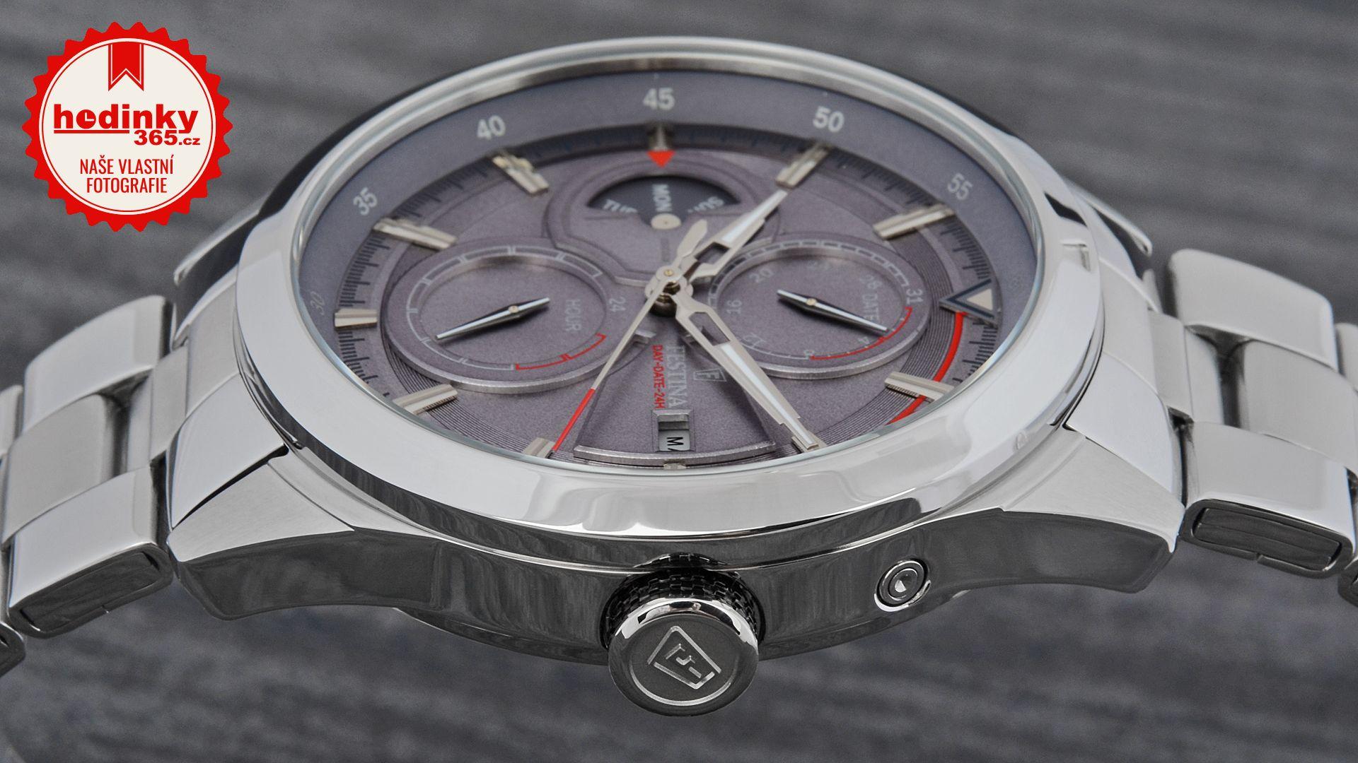55d8a7c2593 Pánské hodinky - ocelový řemínek
