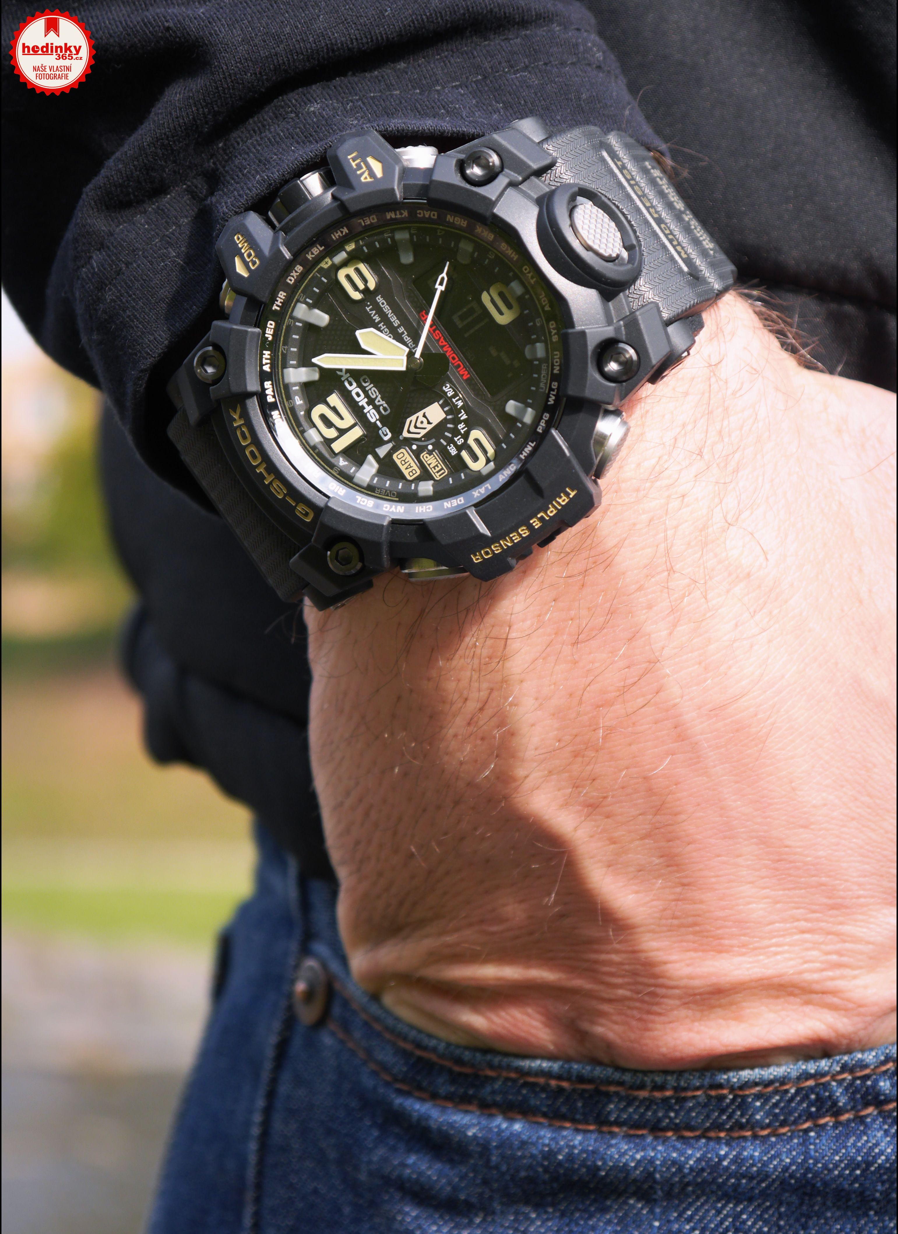 Casio G-Shock Mudmaster GWG-1000-1AER  b6224184b1