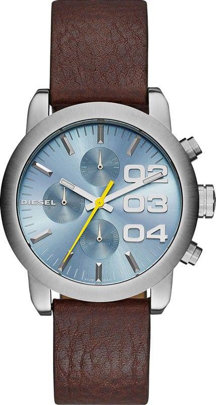 Unisex hodinky - kožený řemínek 271e288c3f2