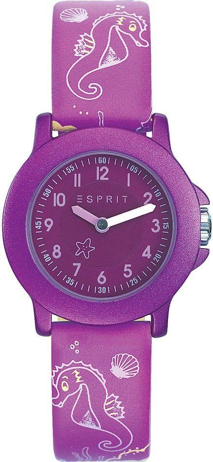Esprit TP10345 Purple ES103454013 s motivem mořského koníka + pastelky