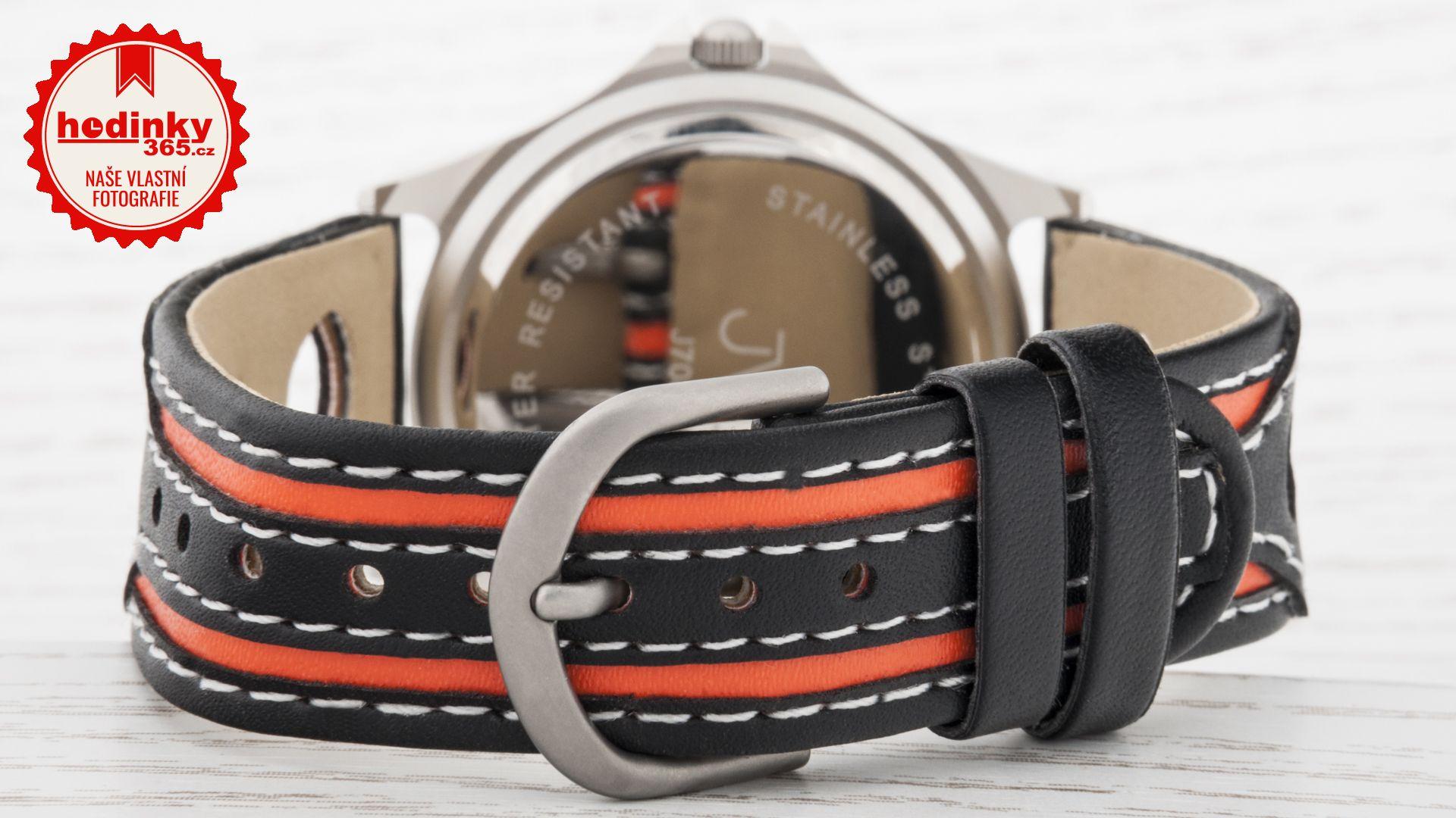 9186c69c49b Chlapecké hodinky - pryžový řemínek