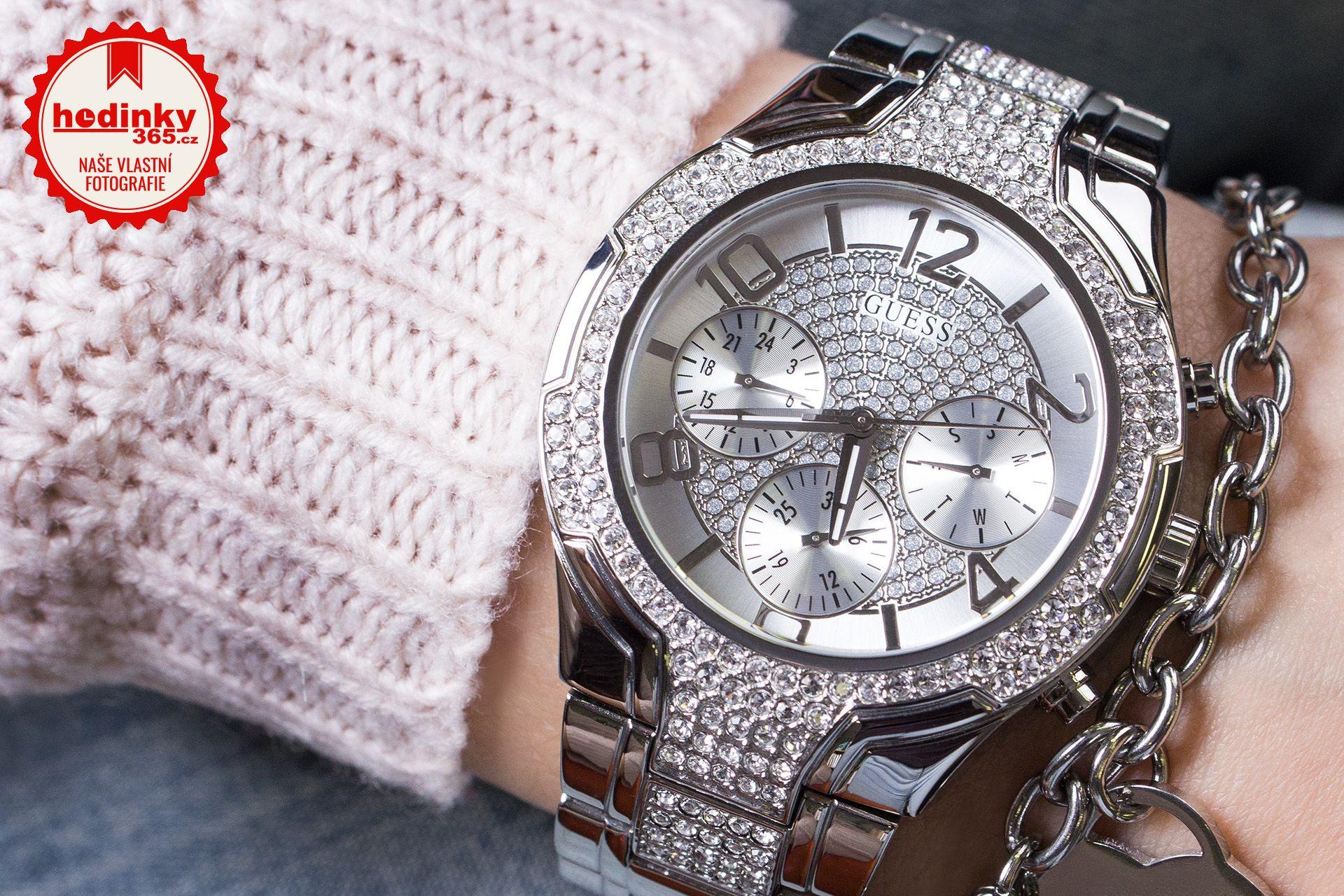45f8a0bc590 Dámské hodinky - ocelový řemínek