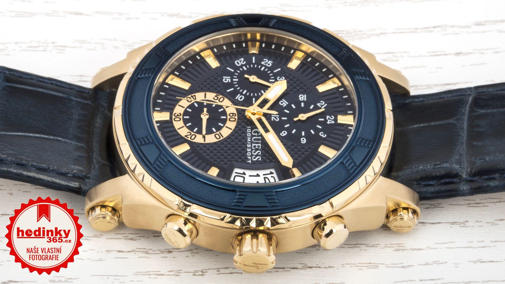8a104d2d6 Pánské hodinky - kožený řemínek, ocel pouzdro, minerální sklíčko. Veškeré  technické parametry naleznete níže