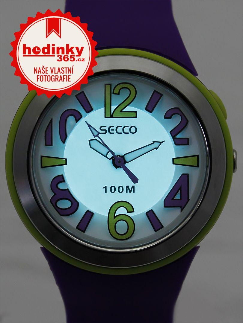 Secco S DPPA-004. Dámské hodinky - silikonový řemínek a71b3639ab