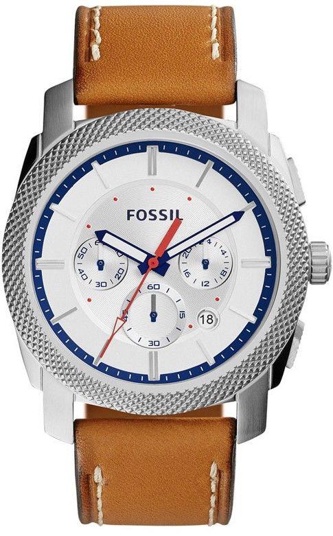 Fossil FS 5063. Pánské hodinky - kožený řemínek 7542d0b5246