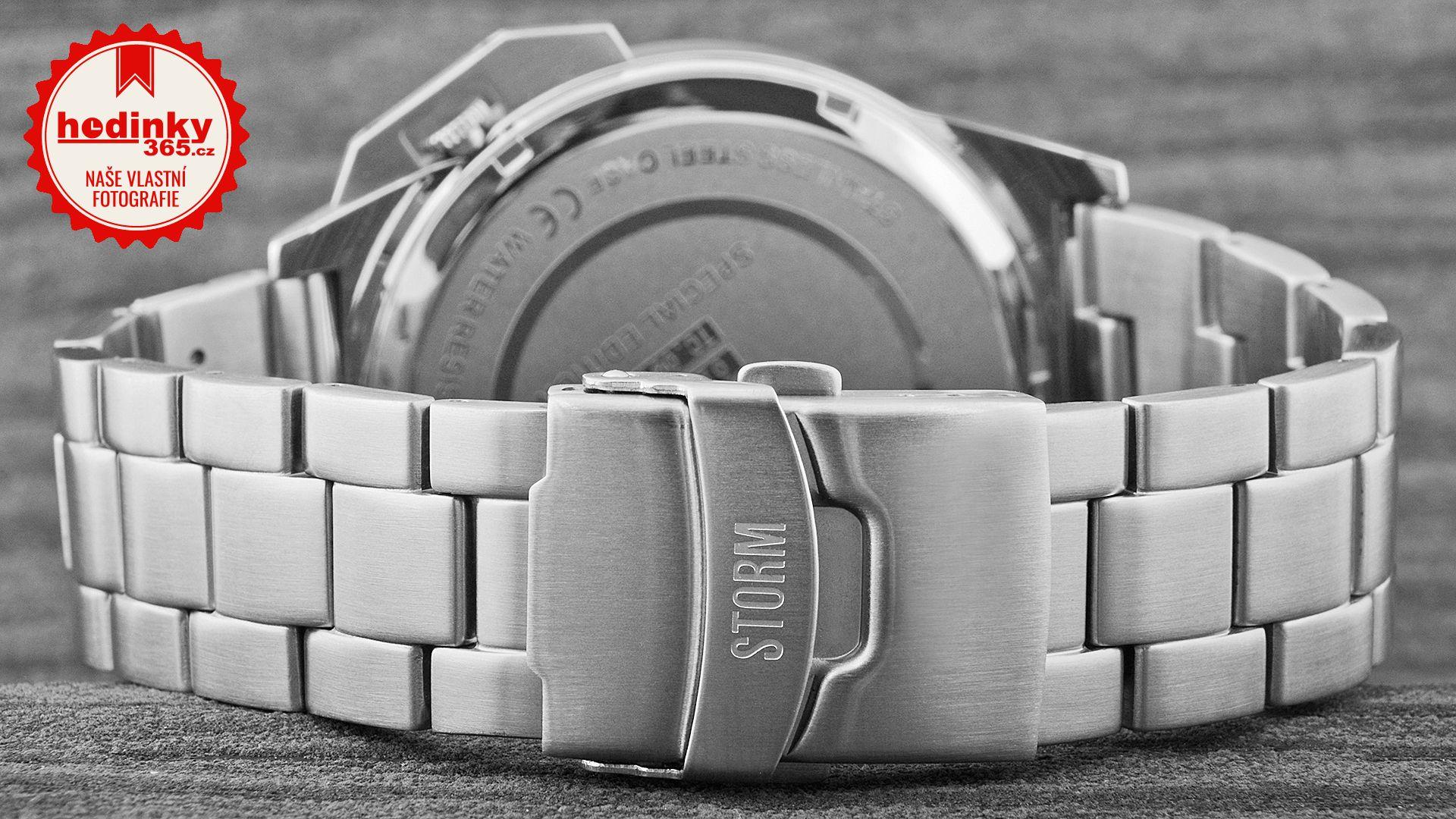 b5ec5b7d4 Pánské hodinky - ocelový řemínek, ocel pouzdro, minerální sklíčko. Veškeré  technické parametry naleznete níže