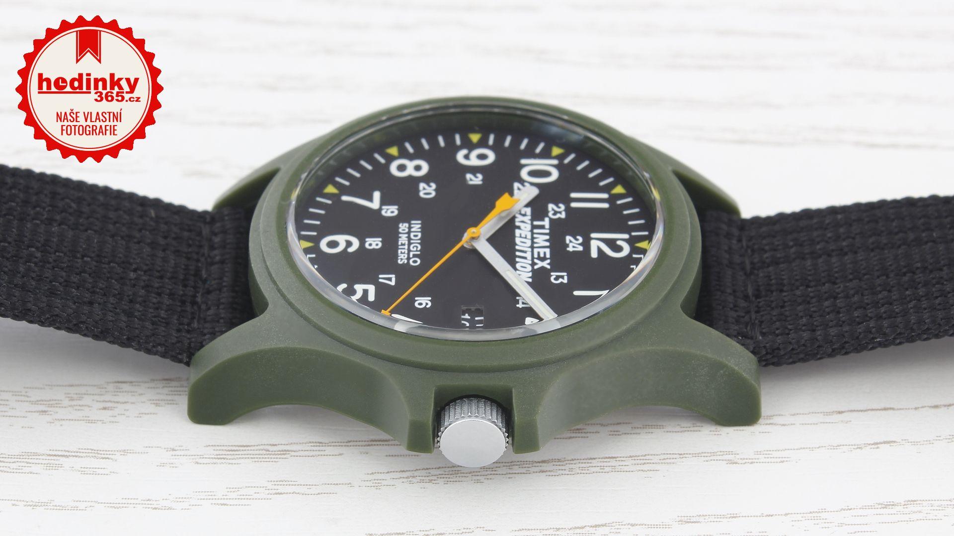 Timex Expedition TW4999800. Pánské hodinky - textilní řemínek b4c146463bc