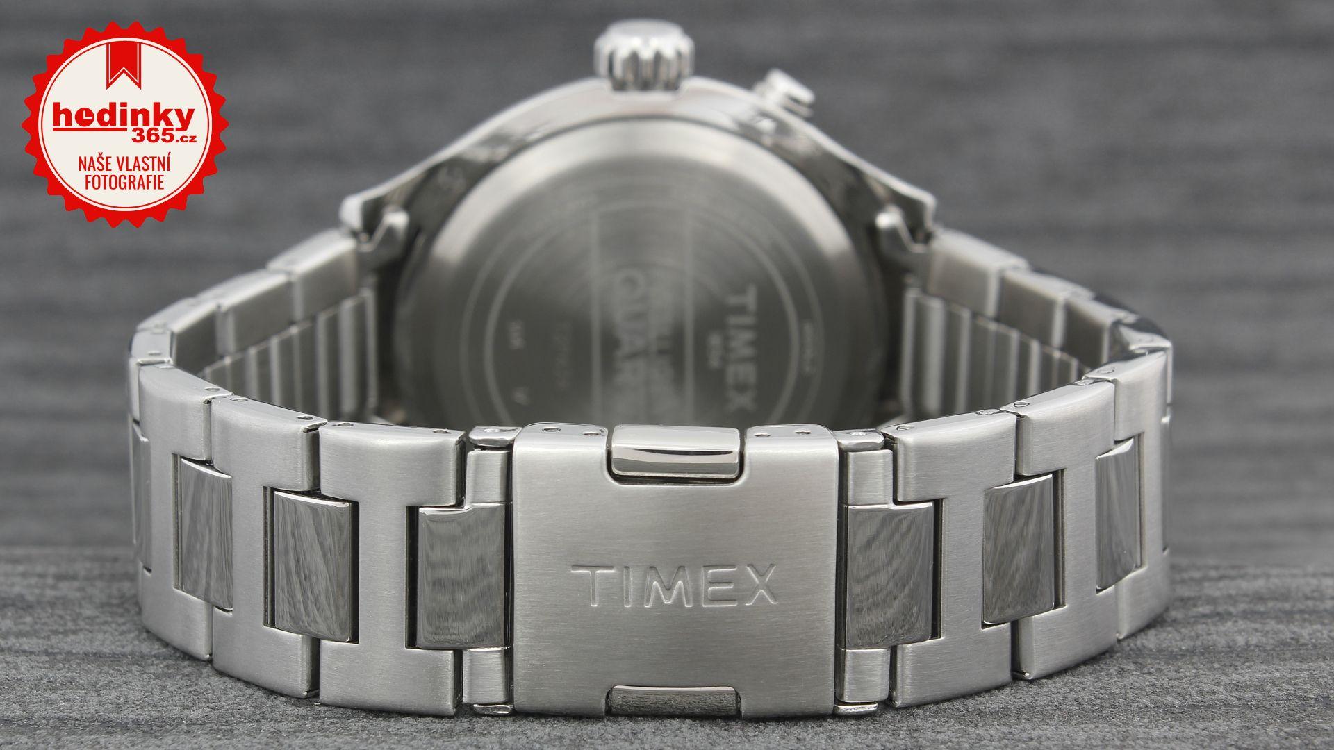 Timex Intelligent Quartz T2P424. Pánské hodinky - ocelový řemínek bb9324e0686