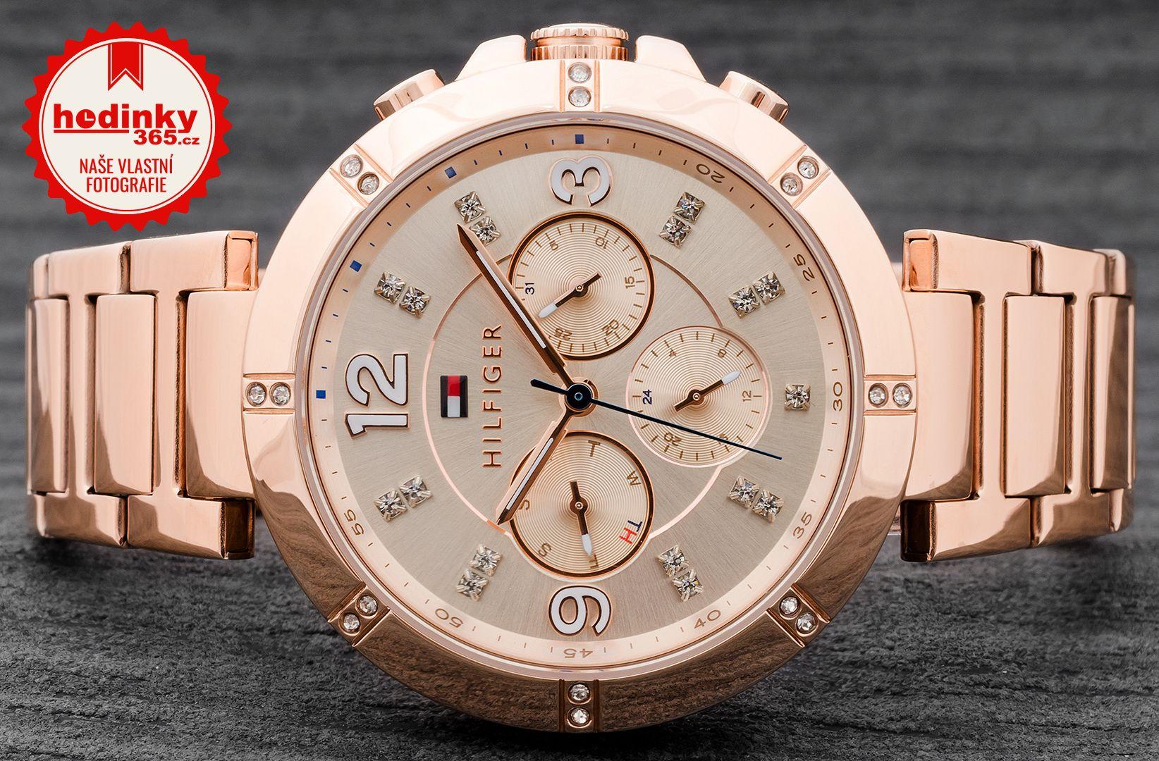 Tommy Hilfiger 1781533. Dámské hodinky - ocelový řemínek b8252c9c7e