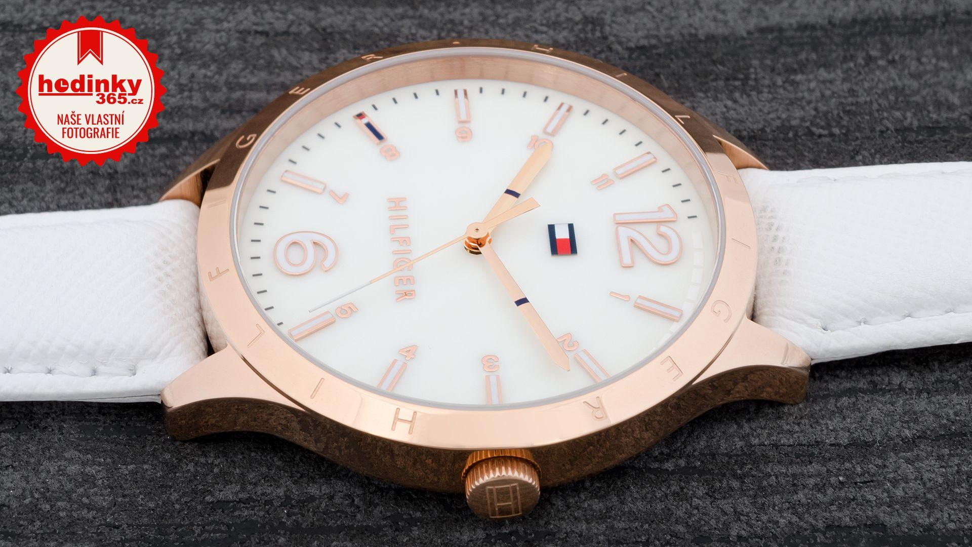 72c939dc4 Tommy Hilfiger 1781543. Dámské hodinky - kožený řemínek, ocel pouzdro,  minerální sklíčko. Veškeré technické parametry naleznete níže