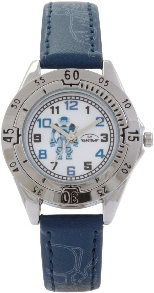 9f8c1cec687 Chlapecké hodinky - koženkový řemínek
