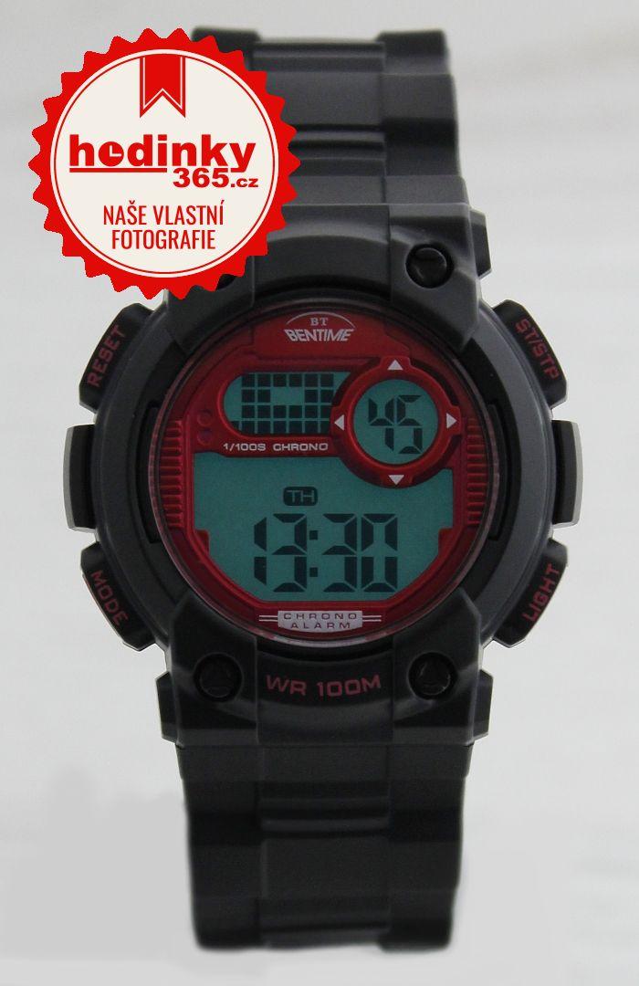 a538de67b7a Chlapecké hodinky - plastový řemínek