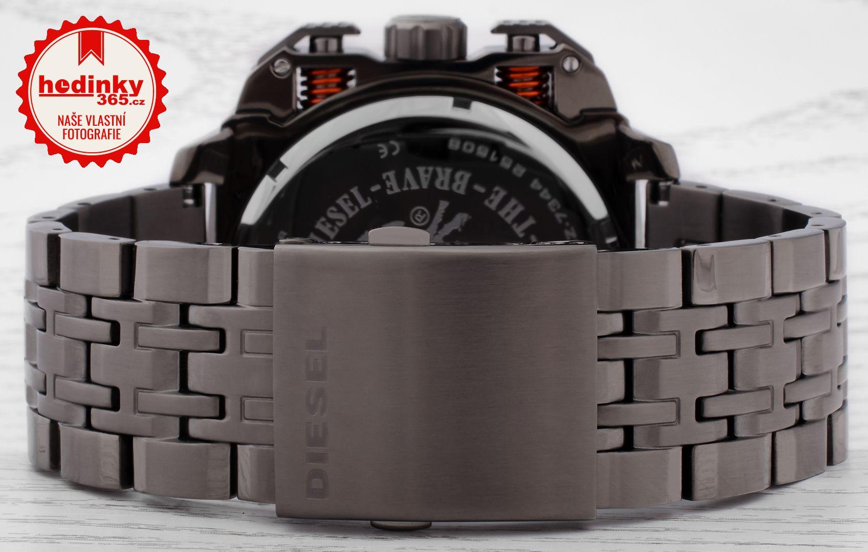 Diesel Bamf DZ 7344. Pánské hodinky - ocelový řemínek cfca956039