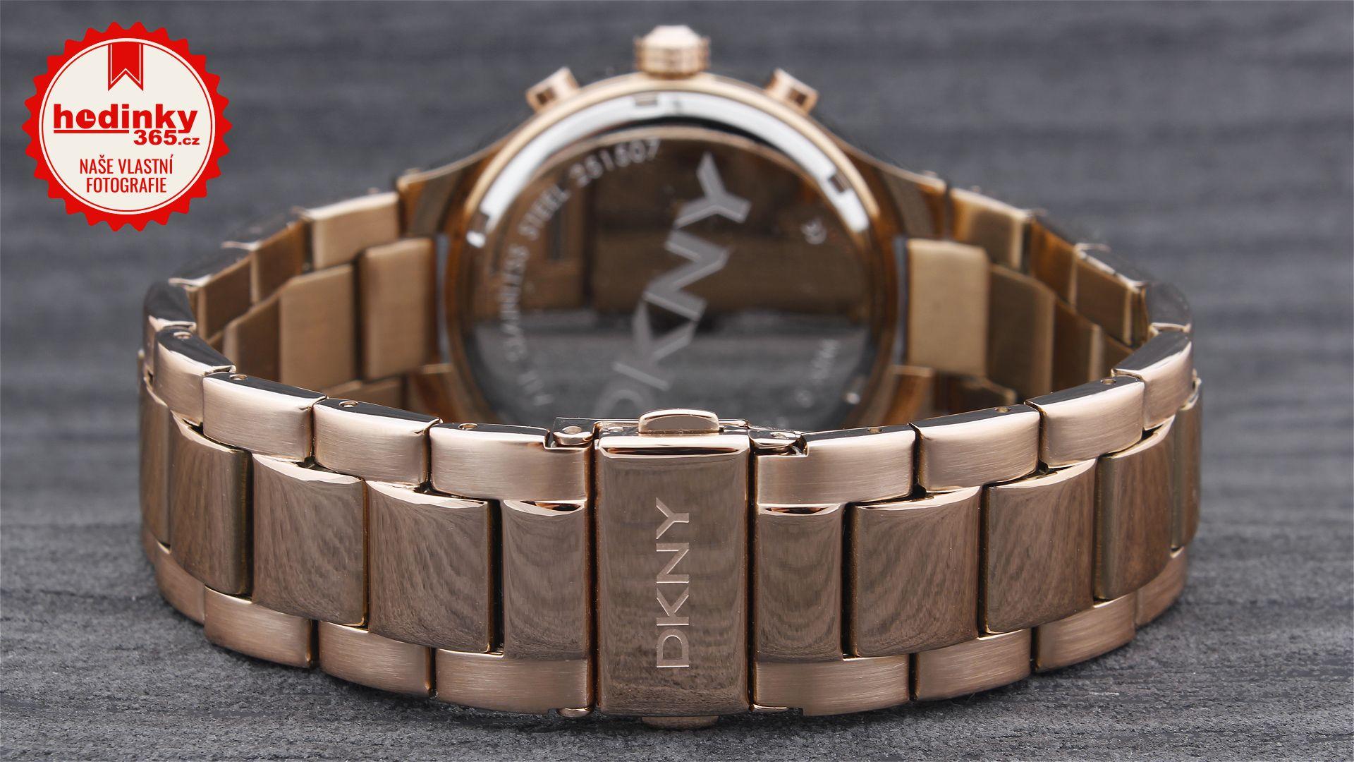 ad34317cf43 DKNY NY 2396. Dámské hodinky - ocelový řemínek