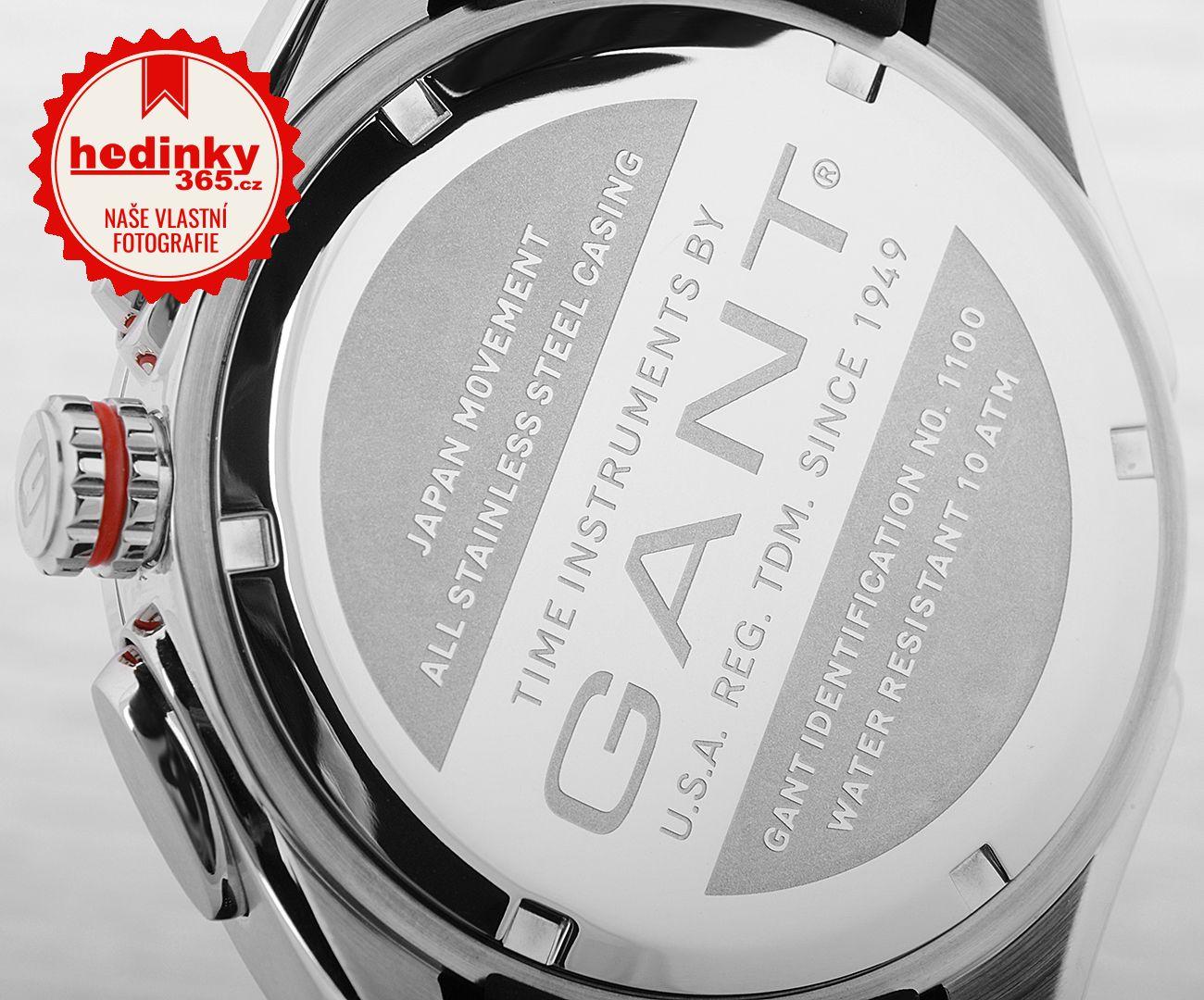Gant Milford II W11001. Pánské hodinky - pryžový řemínek 95b801b9efb