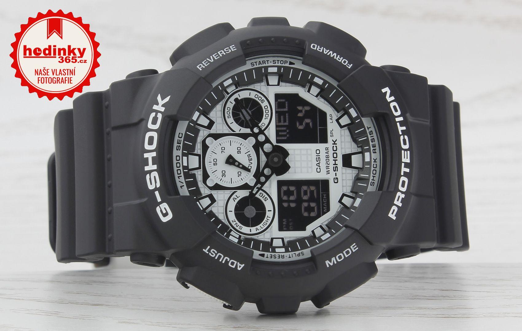Casio G-Shock Original GA-100BW-1AER  b39a4b8093