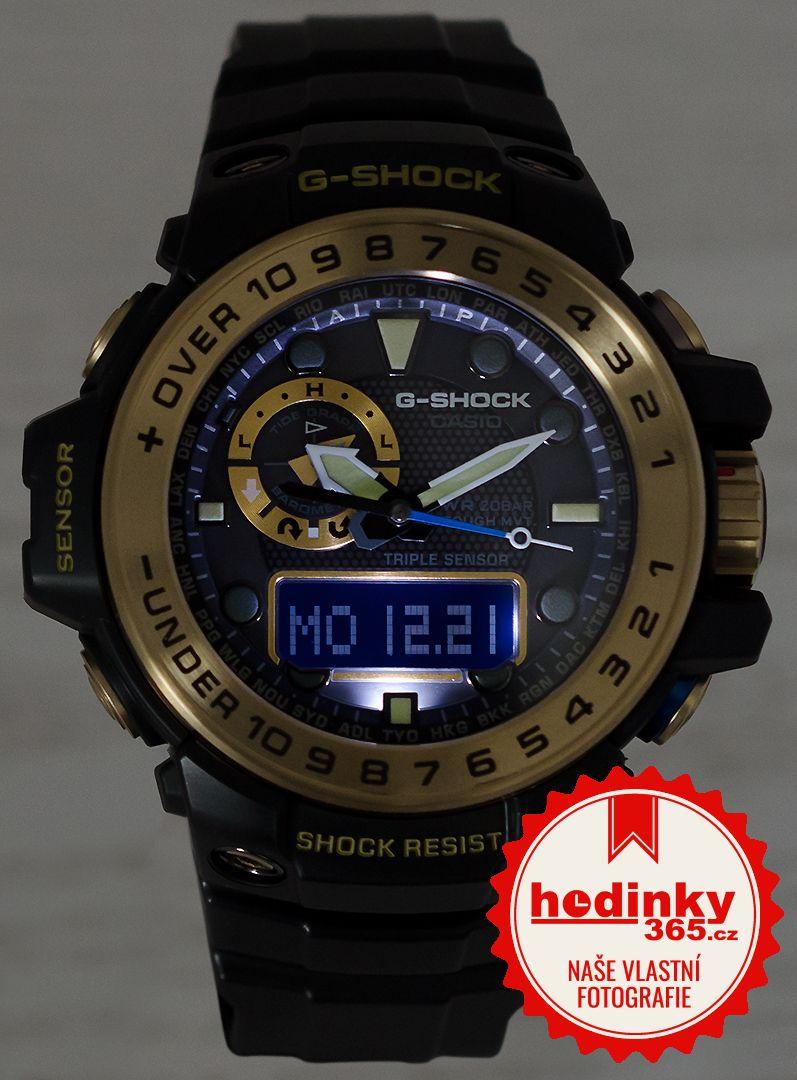Casio G-Shock Gulfmaster GWN-1000GB-1AER Black   Gold Special ... b7f4a5627d
