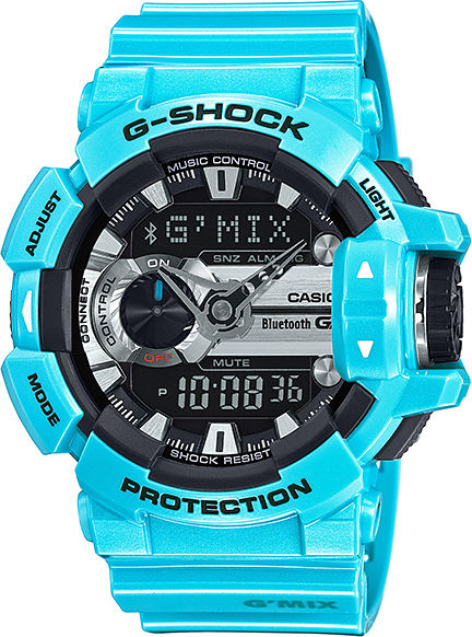 Casio G-Shock G-Bluetooth G-Mix GBA-400-2CER  97ce1c28b6