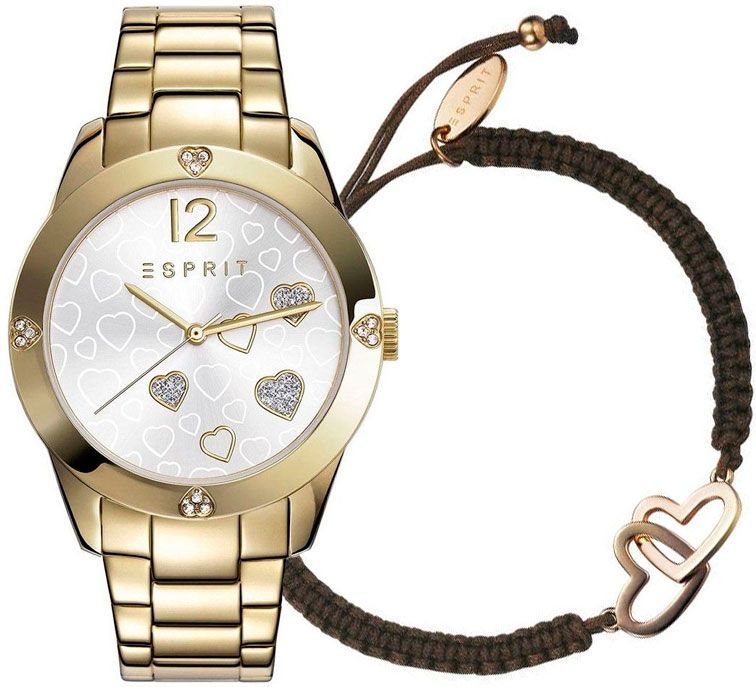 Esprit TP10887 Gold ES108872002 + náramek