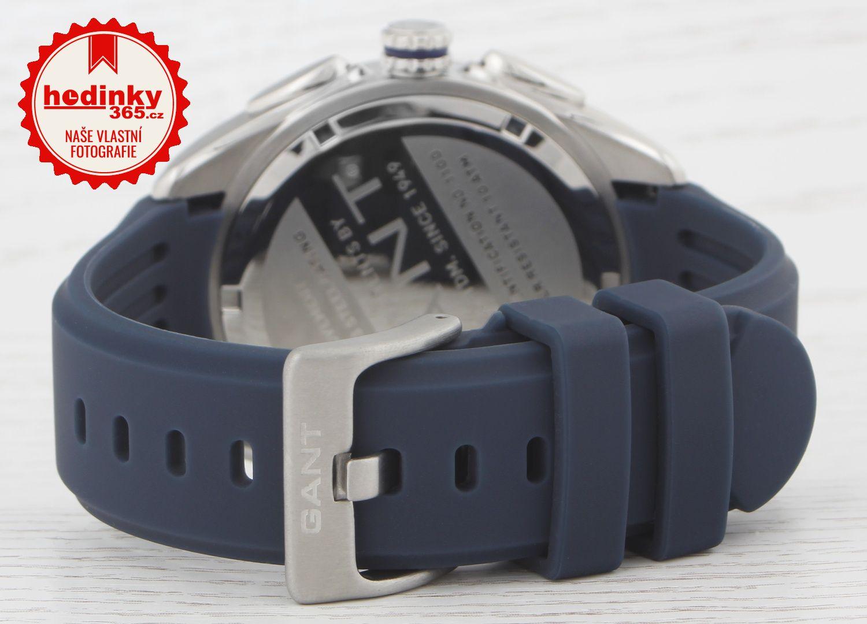 Gant Milford II W11003. Pánské hodinky - pryžový řemínek 968a2fe470f