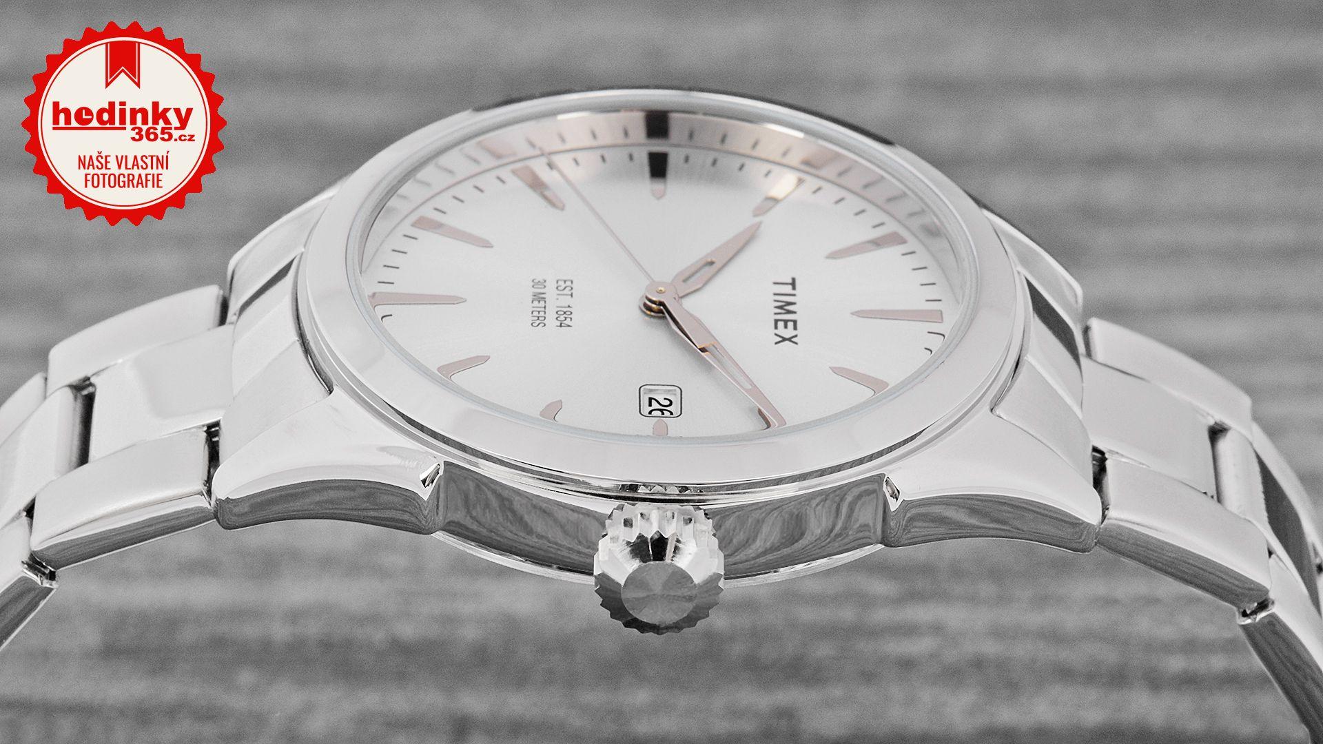 Pánské hodinky - ocelový řemínek 5009b3ee402
