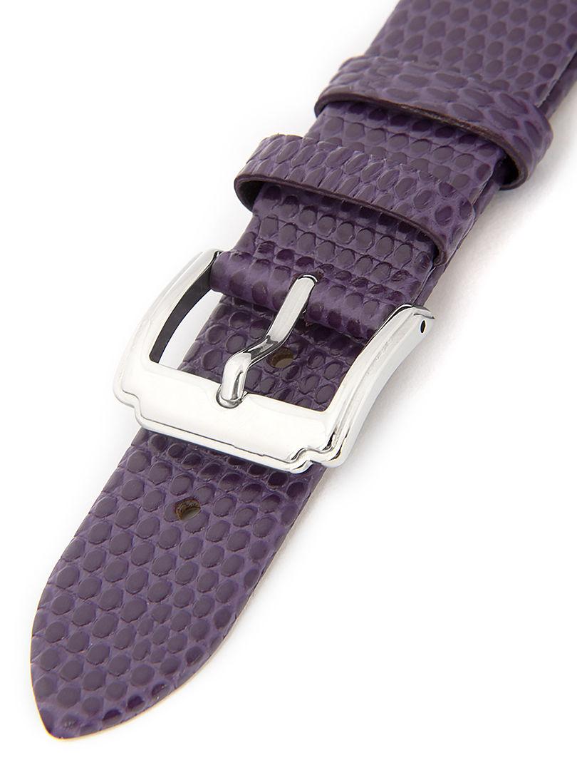 Dámský kožený fialový řemínek k hodinkám HYP-02-VIOLET