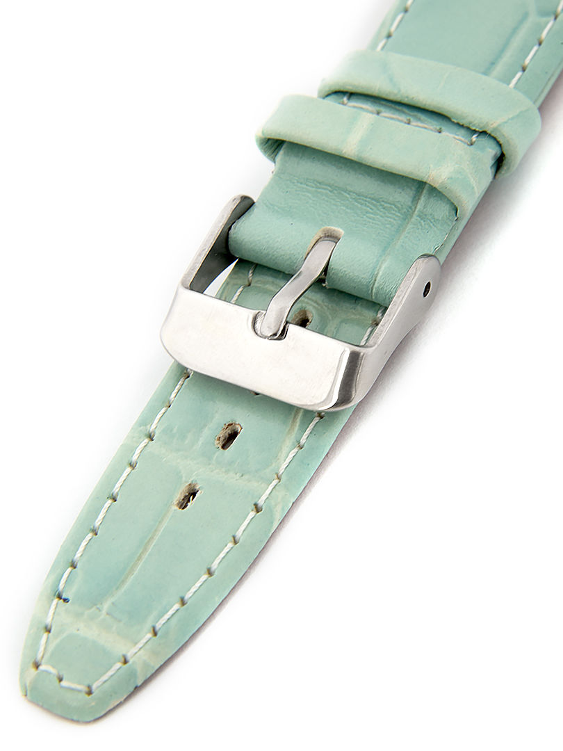 Dámský kožený modrý řemínek k hodinkám W-309-J1