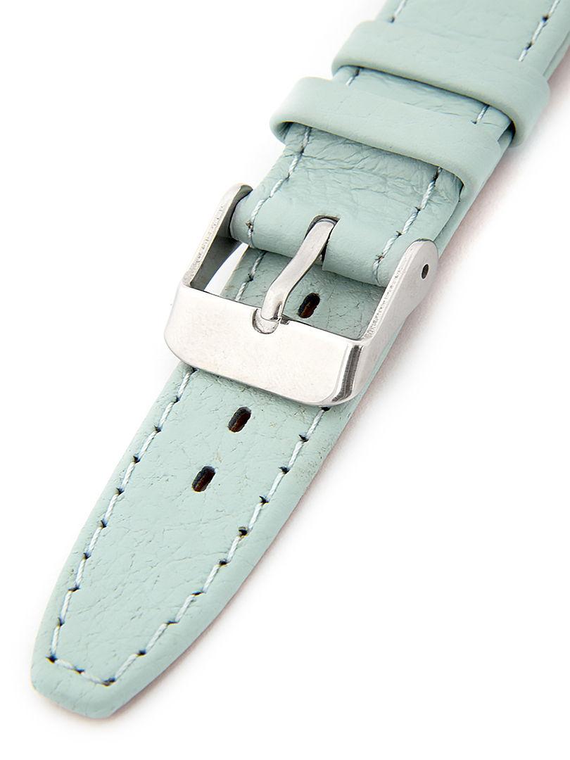 Dámský kožený modrý řemínek k hodinkám W-309-J3 36mm