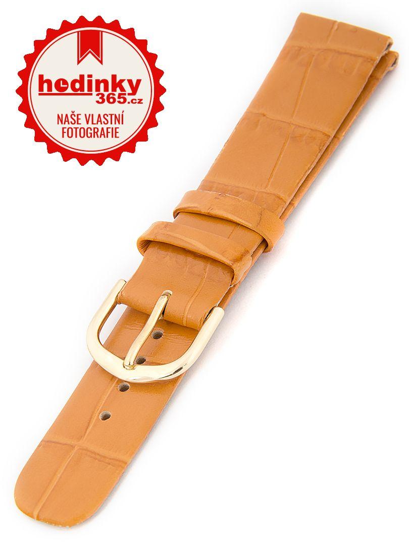 Dámský kožený oranžový řemínek W-414-D