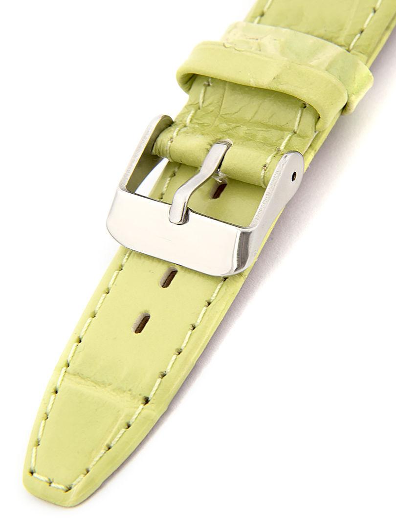 Dámský kožený zelený řemínek k hodinkám W-309-Z