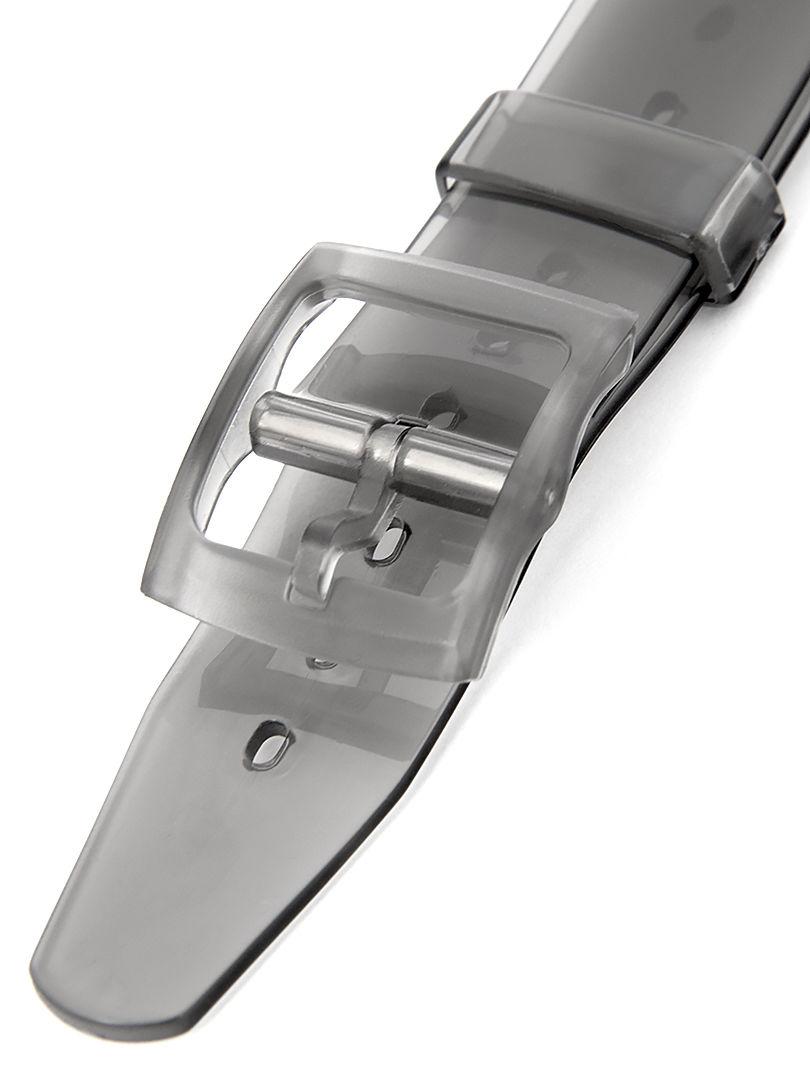 Dámský plastový kouřový řemínek k hodinkám SWATCH-BLACK
