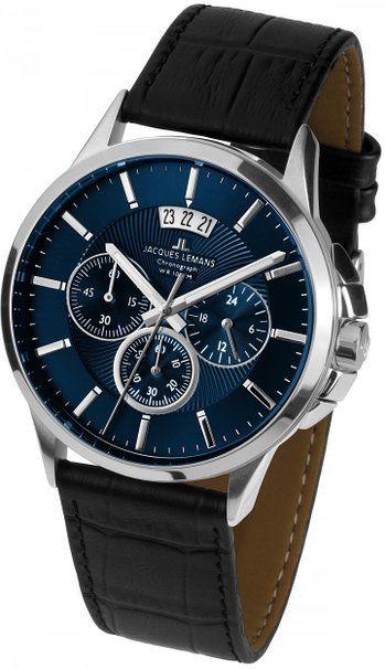 Pánské hodinky - kožený řemínek 57065c6fb5